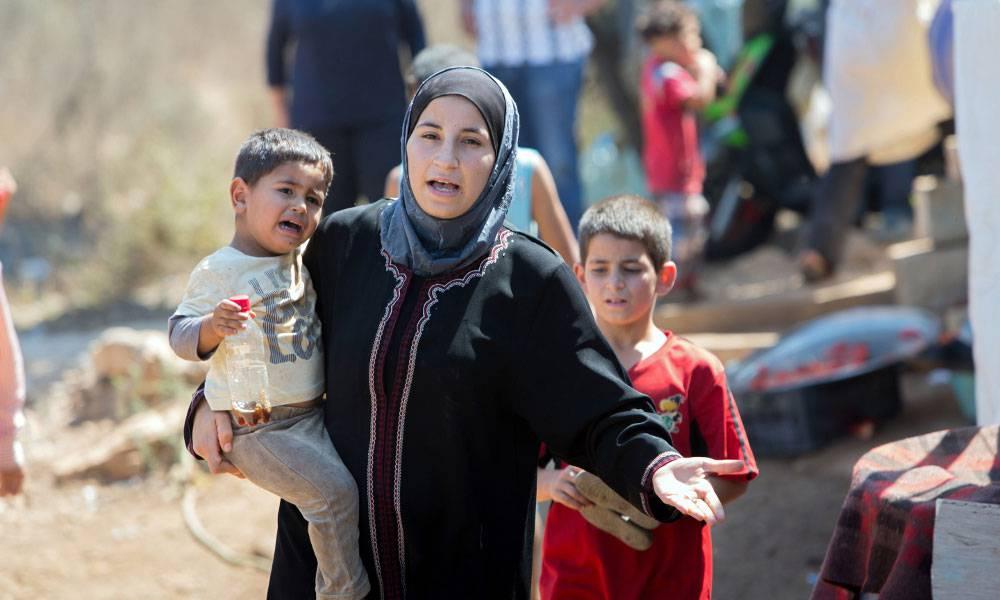 Seif ist acht Jahre alt und floh vor zwei Jahren mit seiner Schwester aus Damaskus.